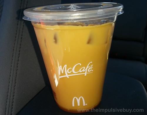McDonald's McCafe? Pumpkin Spice Latte Iced