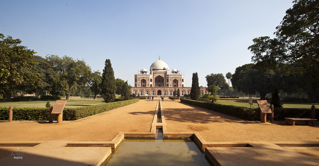 Charbagh Gardens of the Humayun's Tomb