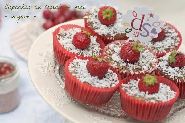 Cupcakes cu lamaie si mac