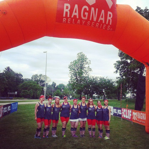 #AmericanSweathearts at the start of #RagnarCHI