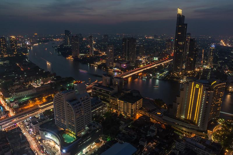 Dusk, Bangkok, Thailand
