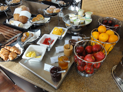 Breakfast spread