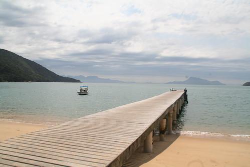 Dock on Praia das Palmas