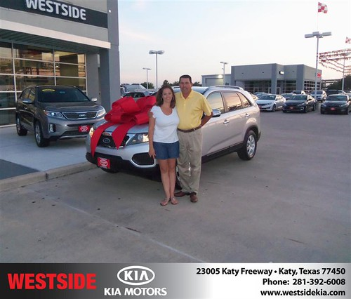 Happy Birthday to Nancy Torres from Clayton Damon and everyone at Westside Kia! #BDay by Westside KIA