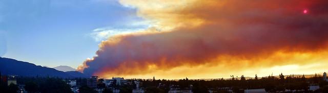 Colby Fire ~ Glendora, CA 2014