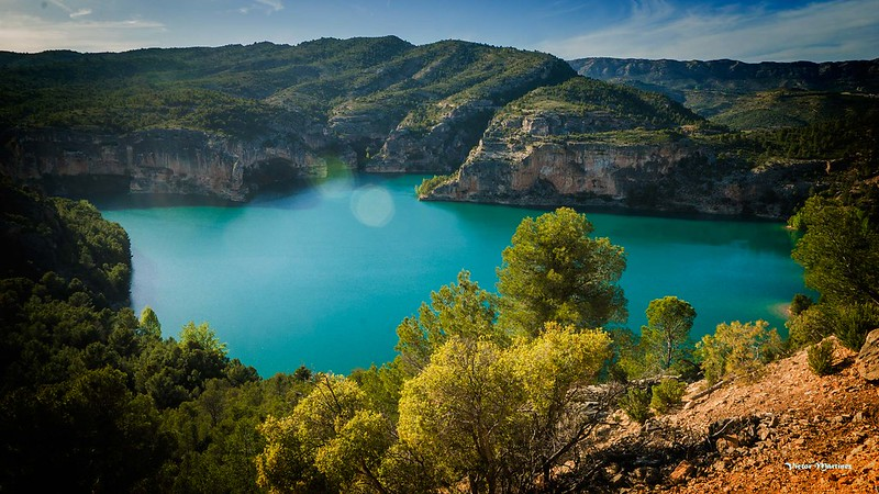 Embalse de Santolea Castellote (Teruel)