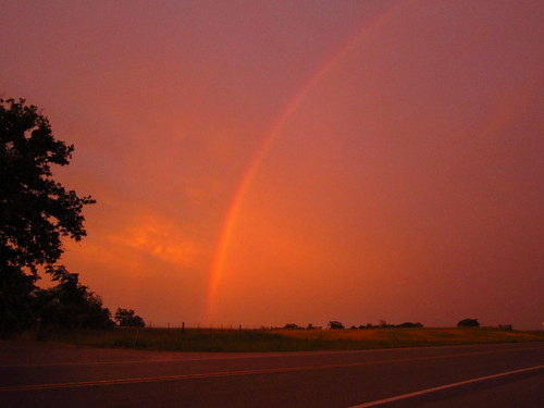 Rainbow over Putnam County, TN by pixygiggles