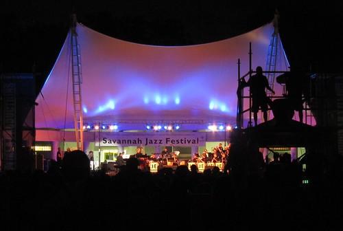 UNF Jazz Ensemble at Savannah Jazz Festival