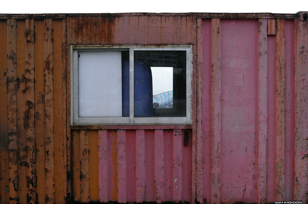 Cargo Container and a window