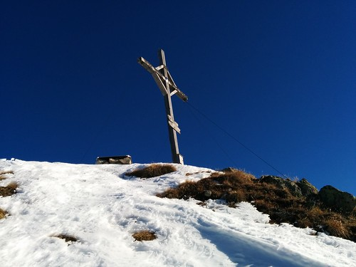 Gipfelkreuz Rudlhorn