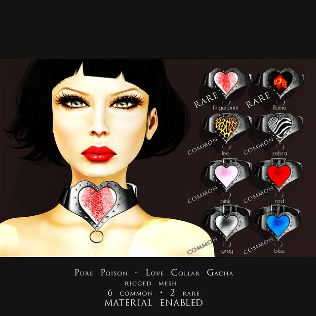 Pure Poison - Love Collar - GACHA