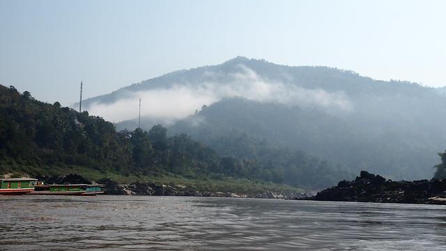 2 Tages Slowbooat Tour von Huay Xuai über Pakbeng nach Luang Prabang