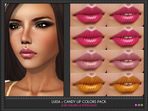 Luisa Candy Lip Colors