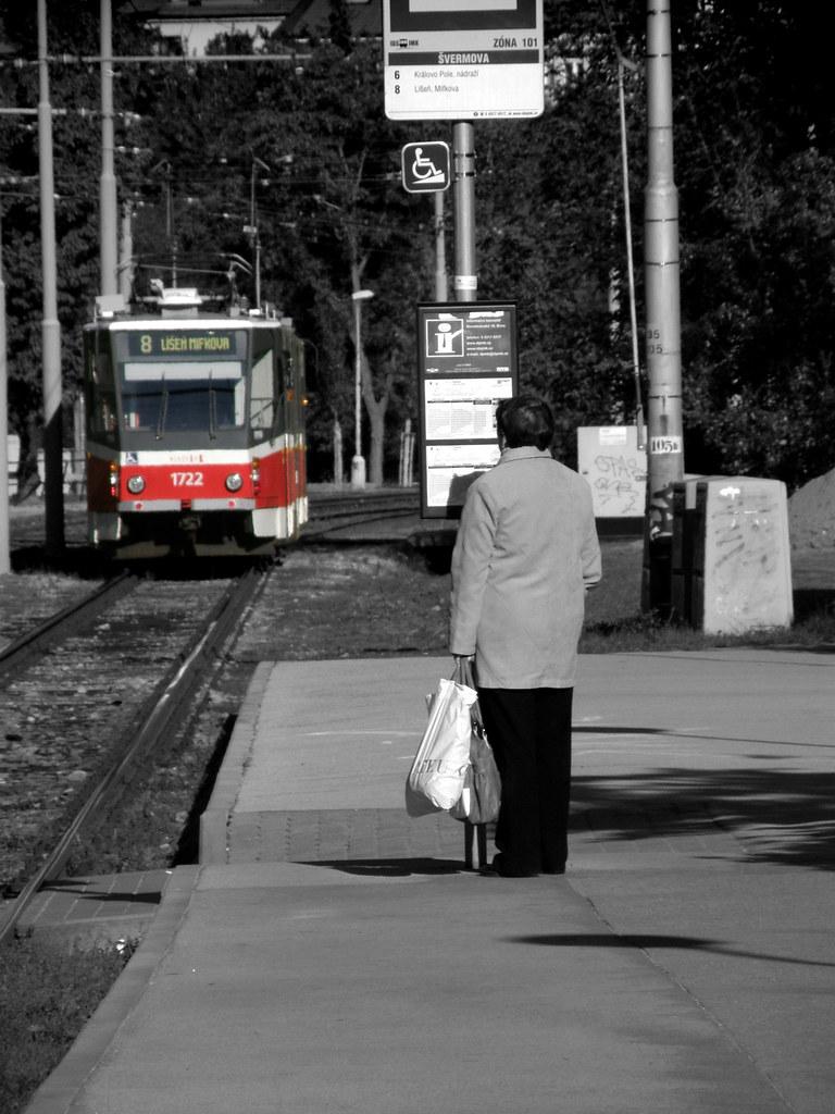 Arriving Tram