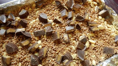 Salty Caramel Nut Squares 21