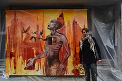 Paris Live Painting - Mear One