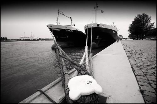 Rotterdam Harbour II by Davidap2009
