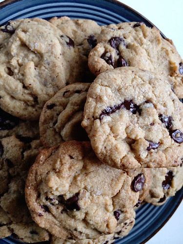 Brown butter + sea salt cookies