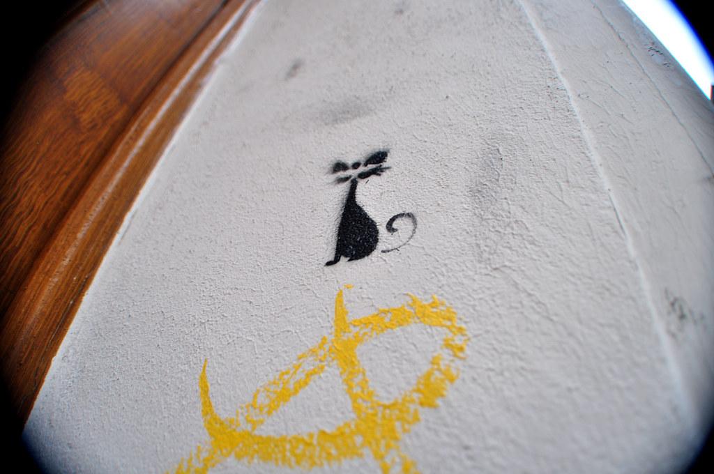 Pochoir Mini Chat Noir (2)