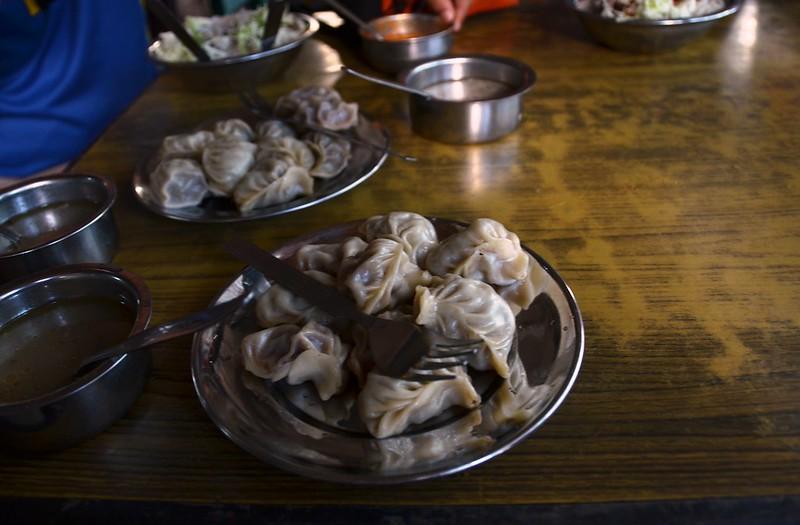 Momos a Pokhara