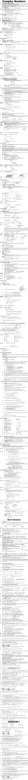 Maths Study Material - Chapter 1