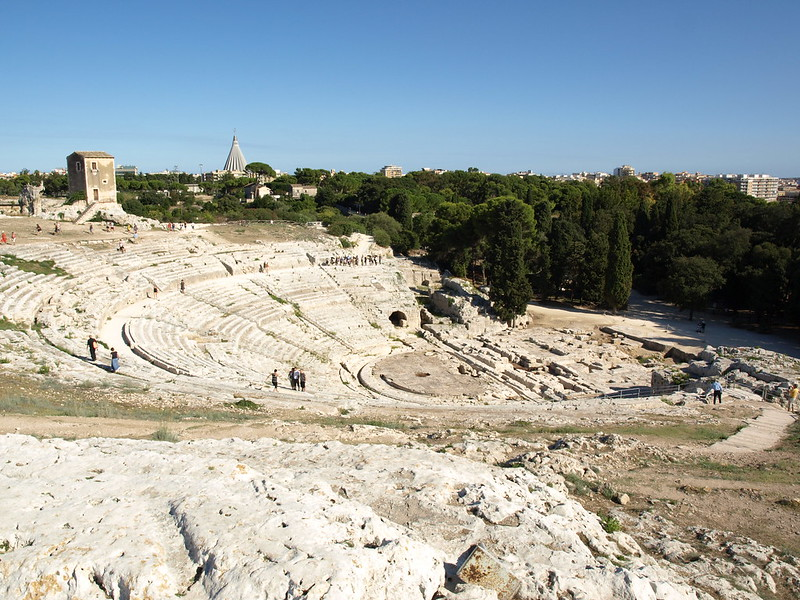 Greek theater of Siracusa