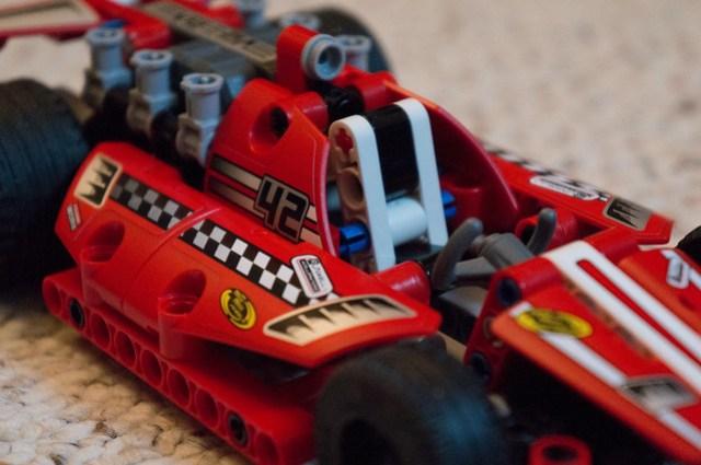 LEGO Technic 42011 cockpit