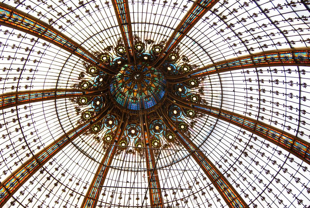 Verrière des Galeries Lafayette