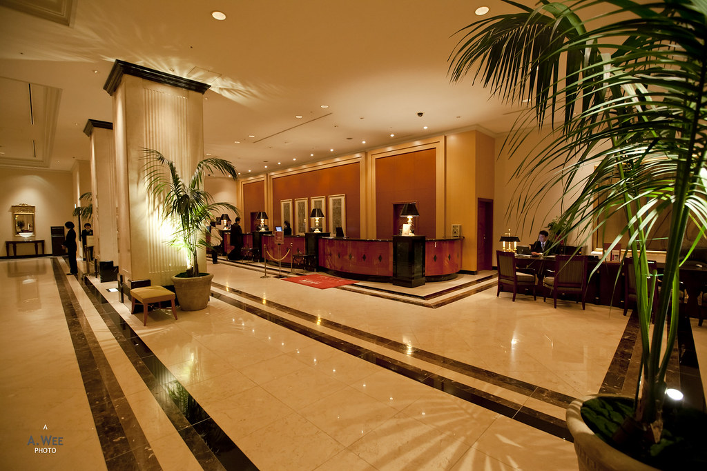 Check-in reception