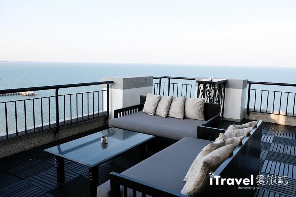 《华欣高空酒吧》White Lotus Sky Bar:希尔顿酒店顶楼美景