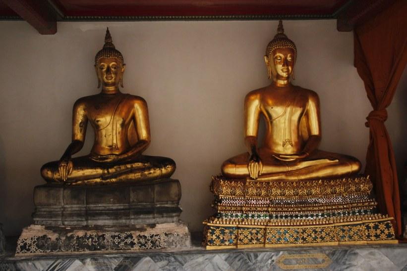 restaurering af templer i Bangkok