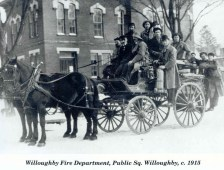 Willoughby Fire Department, 1915
