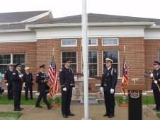 Color Guard at Sept. 11 Memorial