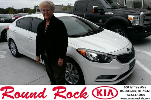 Thank you to Carol Haseloff on your new 2014 #Kia #Forte from Ruth Largaespada and everyone at Round Rock Kia! #LoveMyNewCar by RoundRockKia