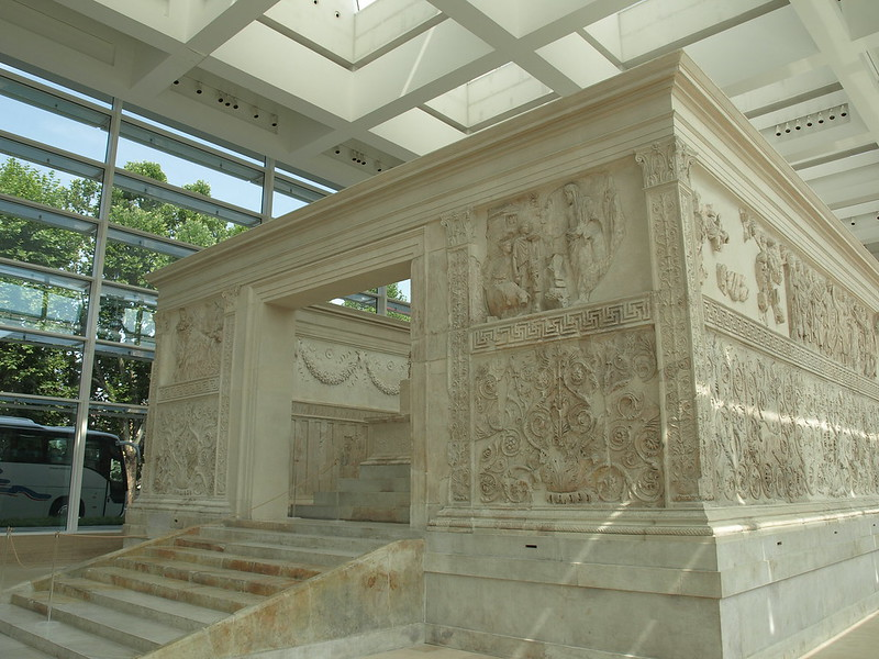 Ara Pacis, front