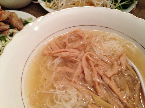 Noodles with Bamboo Shoots and broth