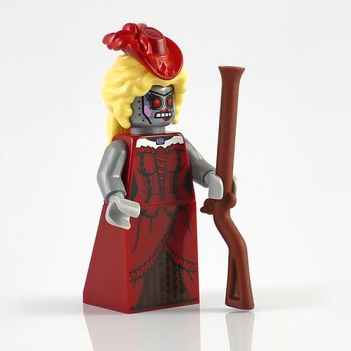 71004 LEGO Minifigures The LEGO Movie Series 01 Calamity Drone 02