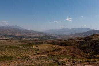 Onderweg passeerden we weer prachtige valleien.