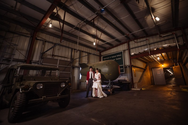 Bunker wedding