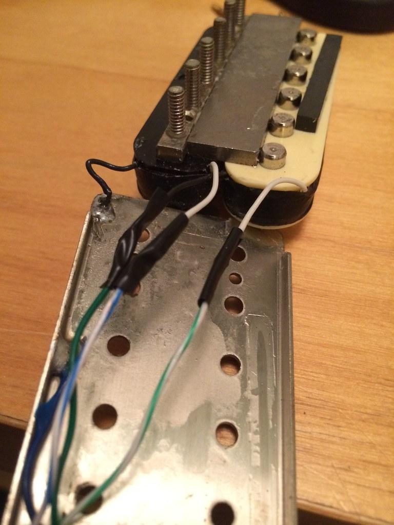 Humbucker From Single To 4 Conductor Wiring Mylespaulcom