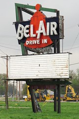 Bel Air Drive In Sign