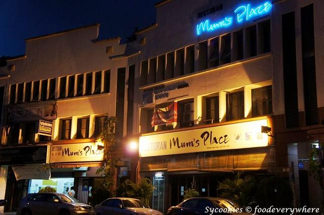 mum's place