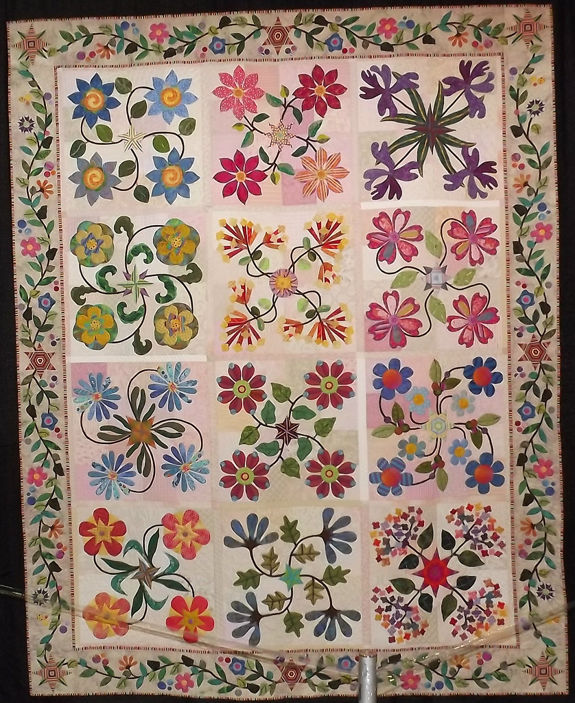 IQF Chicago 2013 - The Wonders of Nature by Leanne Hurley, quilted by Elvira Illig