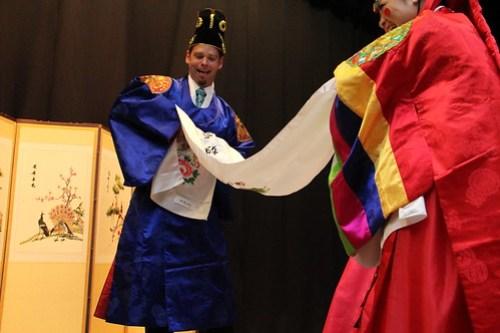 korean ceremony catching