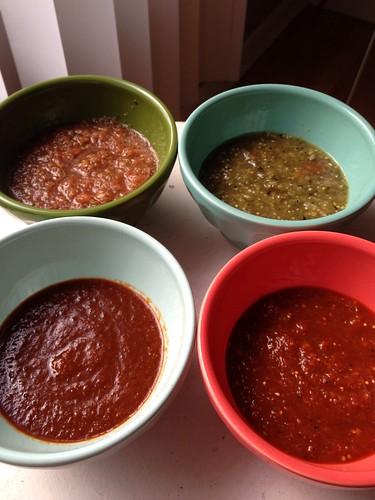 Grilled Salsas