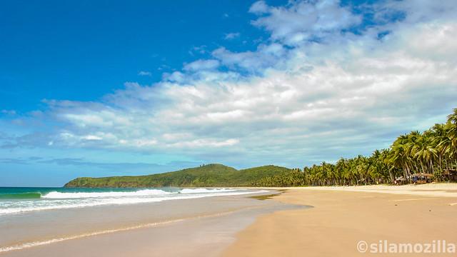 Nacpan and Calitang Twin Beaches