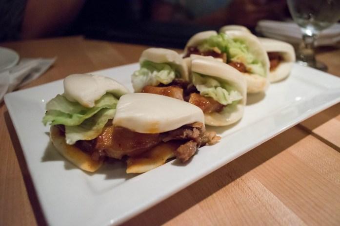 Pork Buns at Ippudo NY