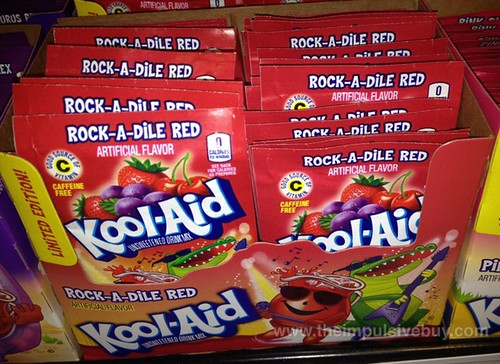 Limited Edition Rock-A-Dile Red Kool-Aid Drink Mix