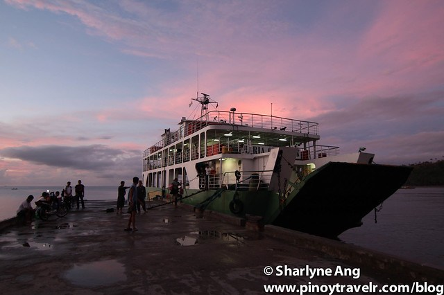 MV Querubin at Sunrise