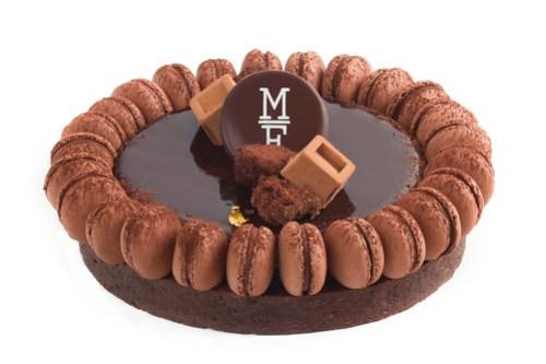 MAMA FRAMBOISE TARTA CHOCOLATE